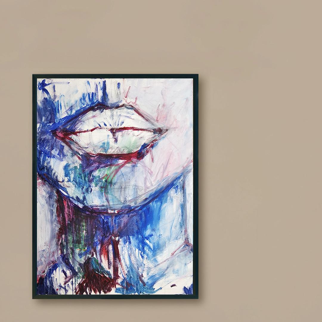 Obraz Akrylowy Brzeg Morski 60 x 80 cm na brązową ścianę