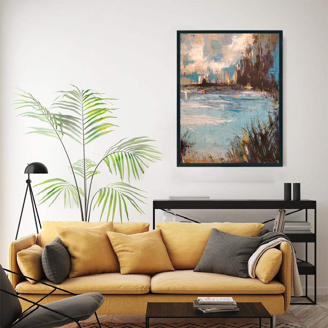 Obraz Akrylowy Organika 60 x 80 cm na ścianę do salonu. Kup obraz do salonu
