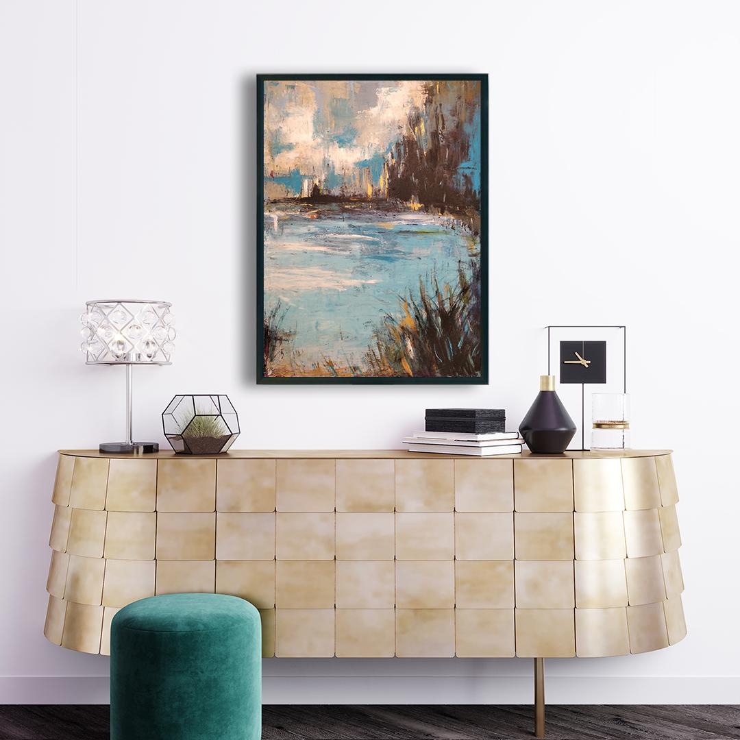 Obraz Akrylowy Organika 60 x 80 cm na ścianę do salonu nad komodę. Kup obraz akrylowy, autorski