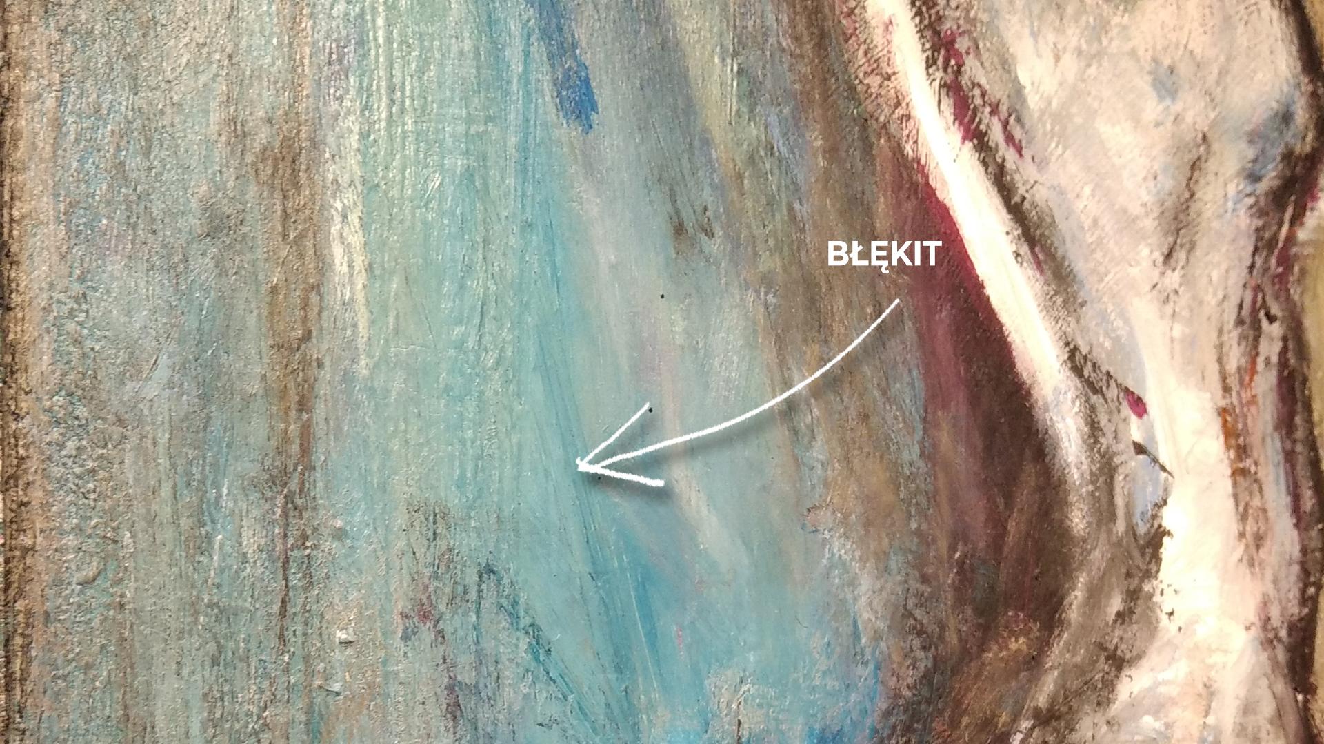 Obraz Akrylowy Taniec 60 x 80 cm detal 2