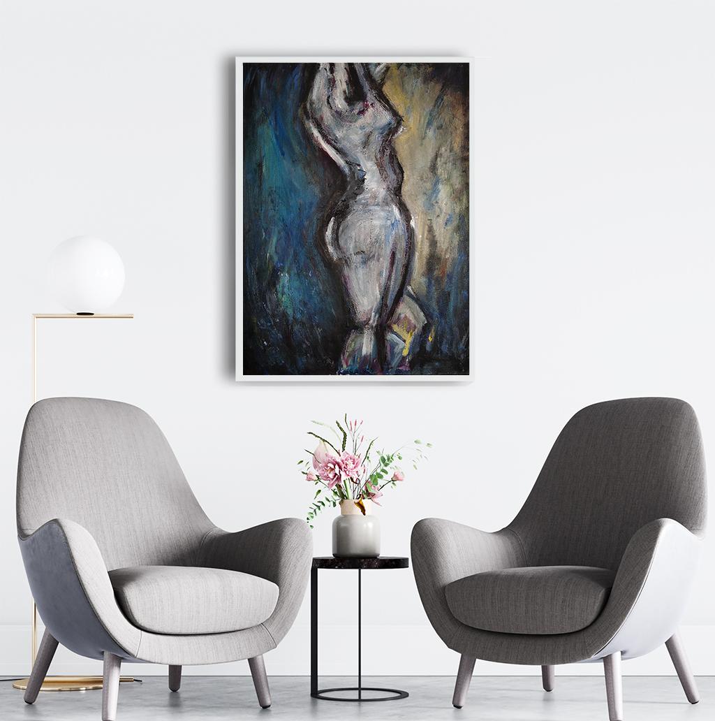 Obraz Akrylowy Taniec 60 x 80 cm obraz do biura