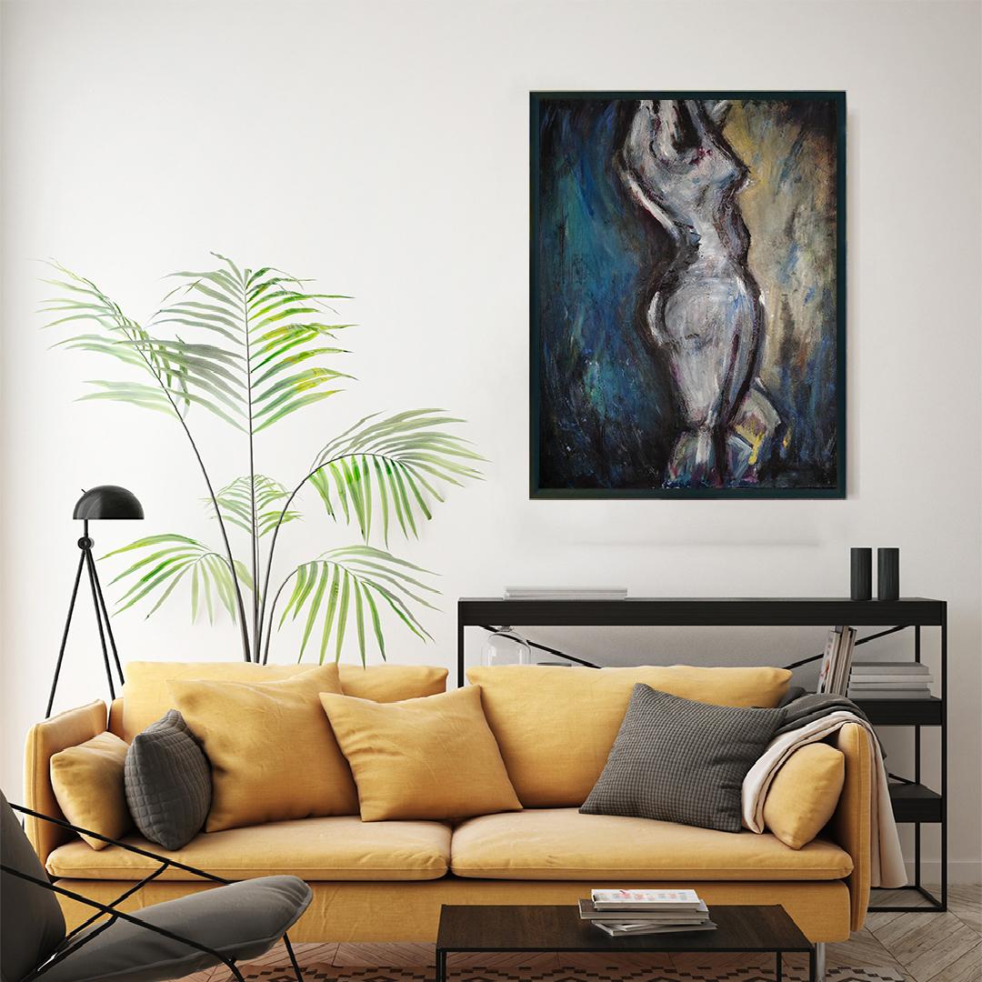 Obraz Akrylowy Taniec 60 x 80 cm obraz do salonu