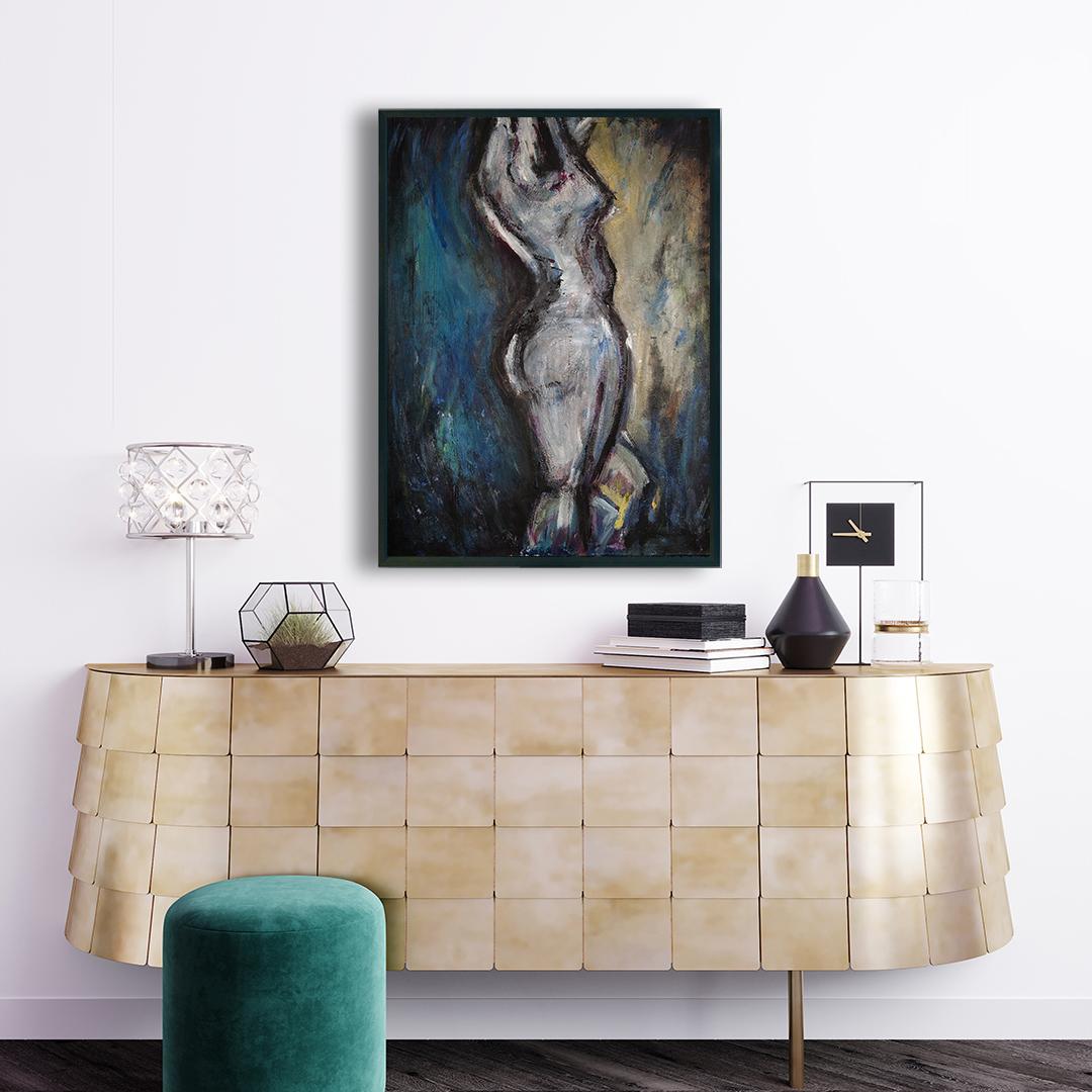 Obraz Akrylowy Taniec 60 x 80 cm obraz nad komodę