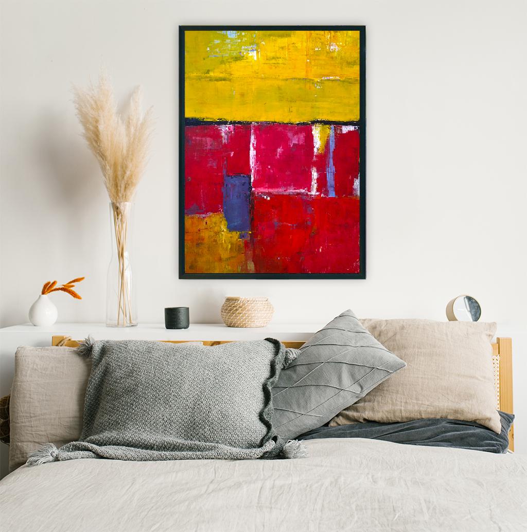 Obraz Akrylowy Brzeg Morski 60 x 80 cm na ścianę nad łóżko