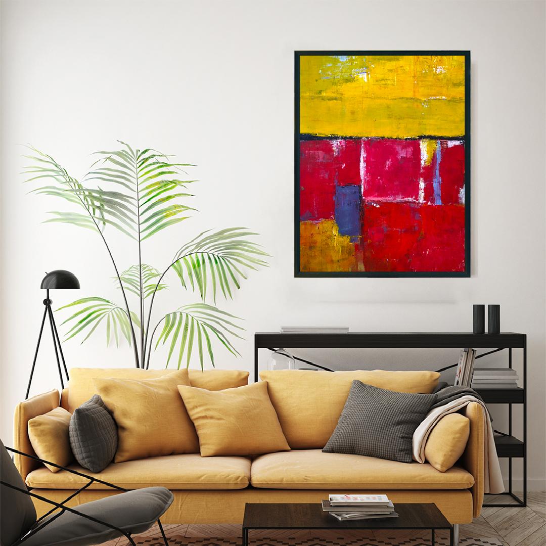 Obraz Akrylowy Brzeg Morski 60 x 80 cm na ścianę do salonu