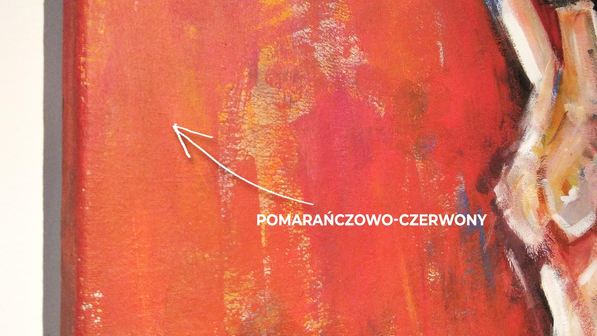 Obraz Akrylowy Poza 60 x 80 cm DETAL 1