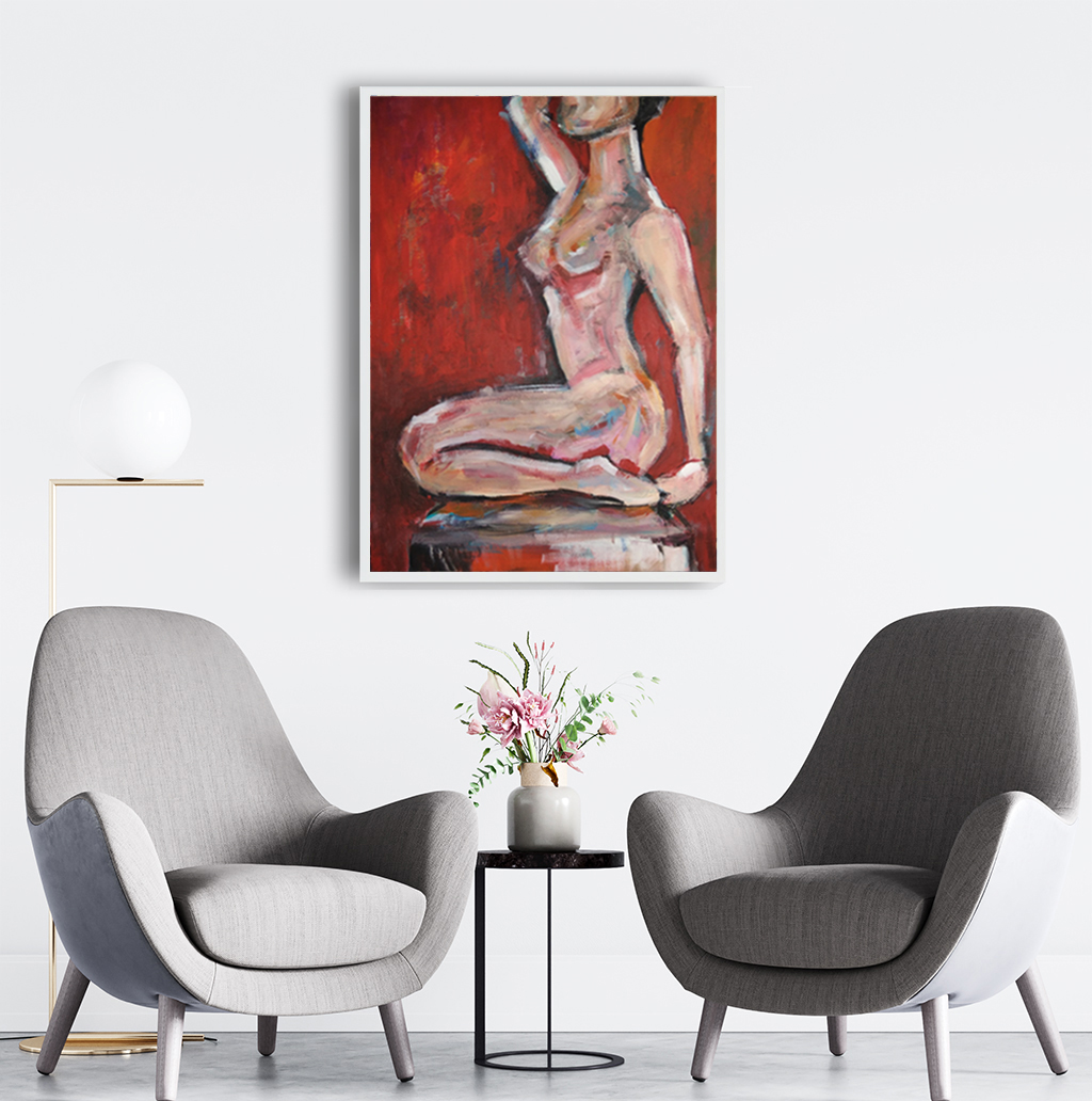 Obraz Akrylowy Poza 60 x 80 cm do biura