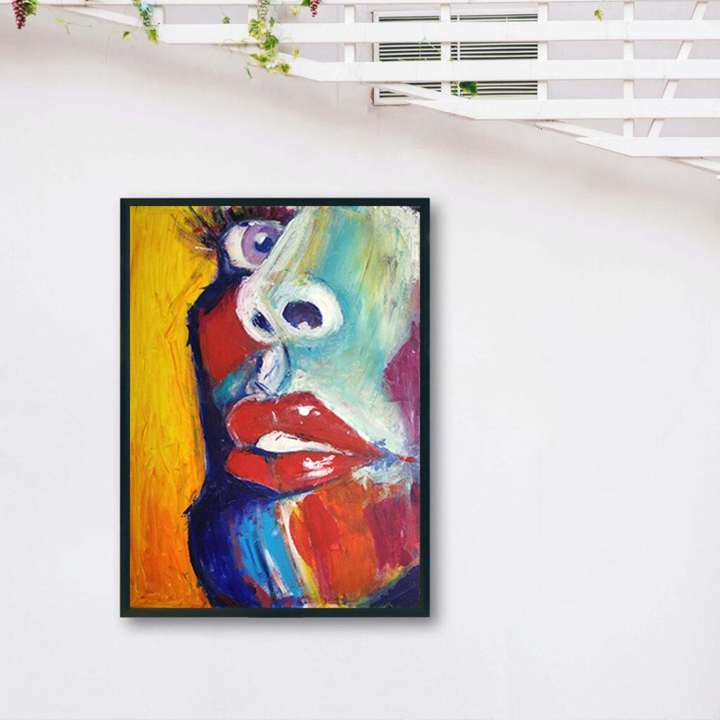Obraz Akrylowy Zbliżenie 60 x 80 cm