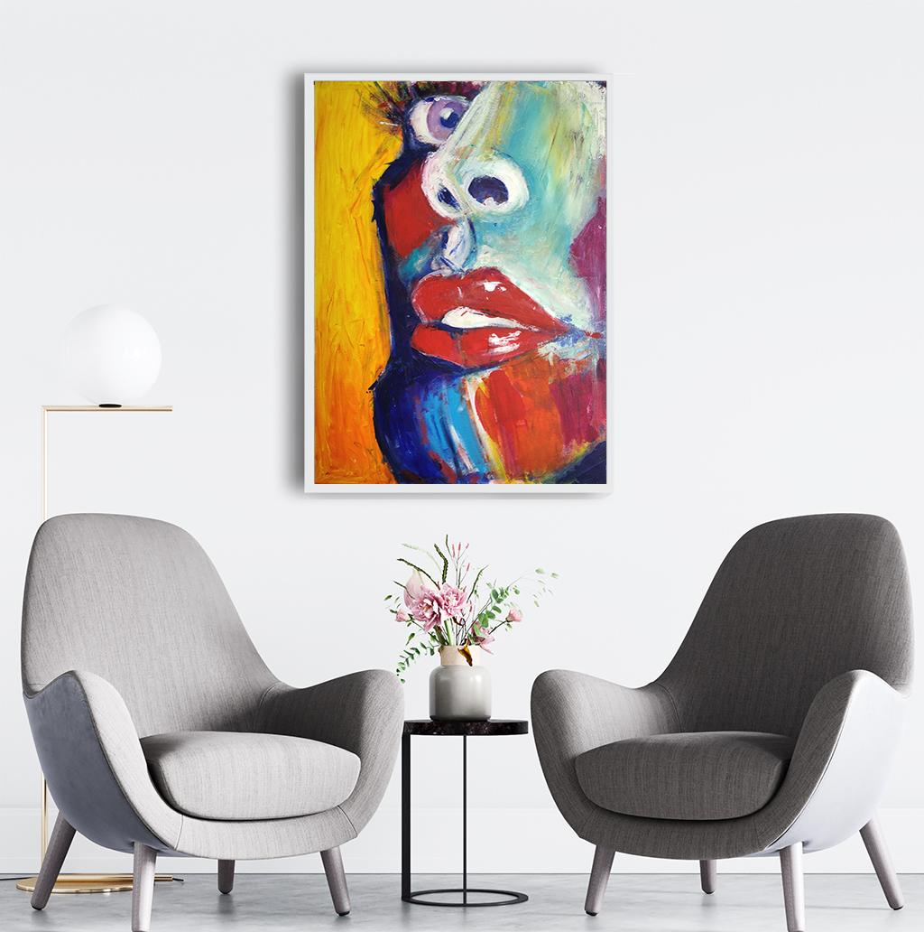 Obraz Akrylowy Zbliżenie 60 x 80 cm obraz do biura