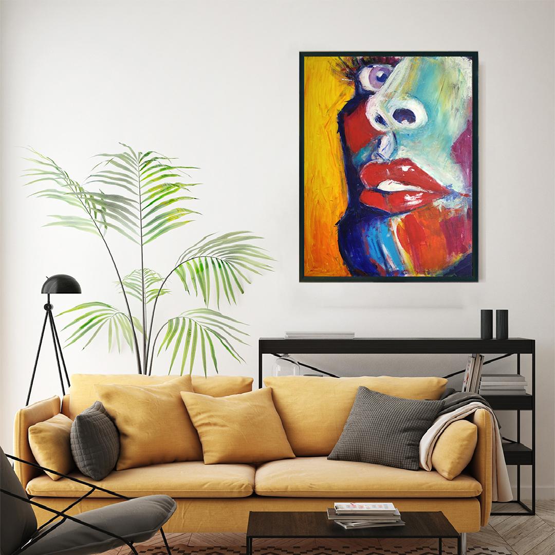 Obraz Akrylowy Zbliżenie 60 x 80 cm obraz do salonu
