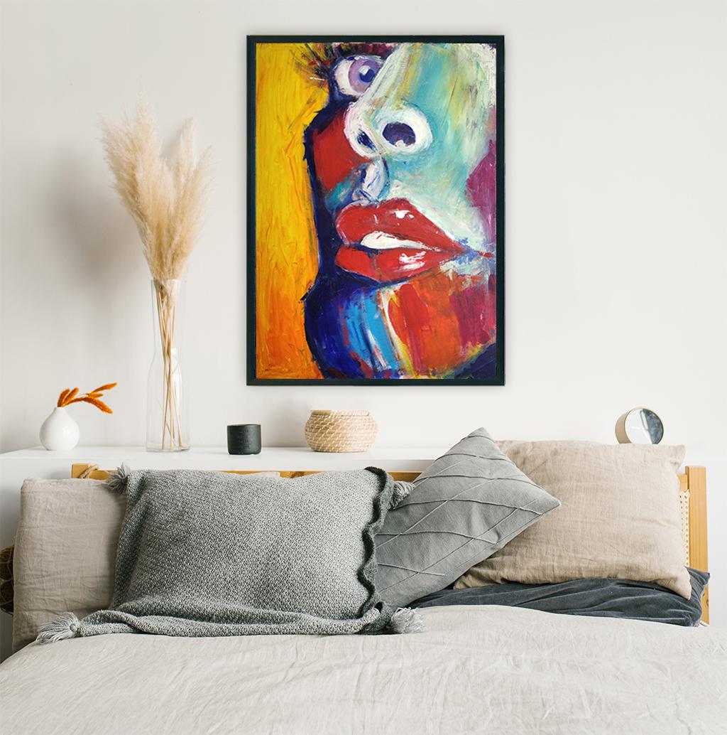 Obraz Akrylowy Zbliżenie 60 x 80 cm obraz nad łóżko do sypialni