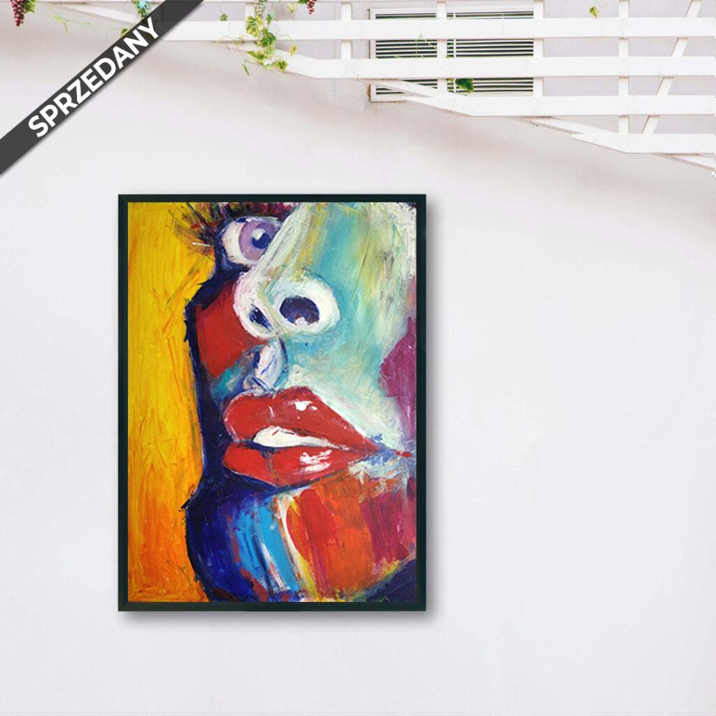 Obraz Akrylowy Zbliżenie 60 x 80 cm sprzedany