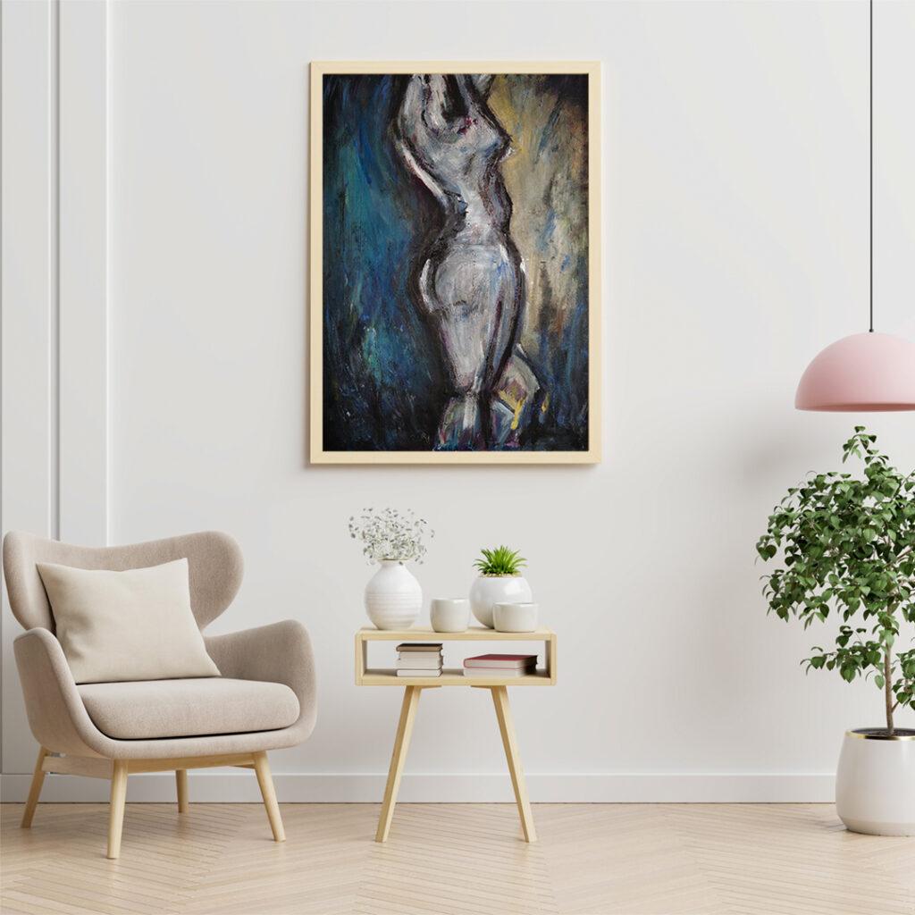 Obraz Akrylowy Taniec 60 x 80 cm