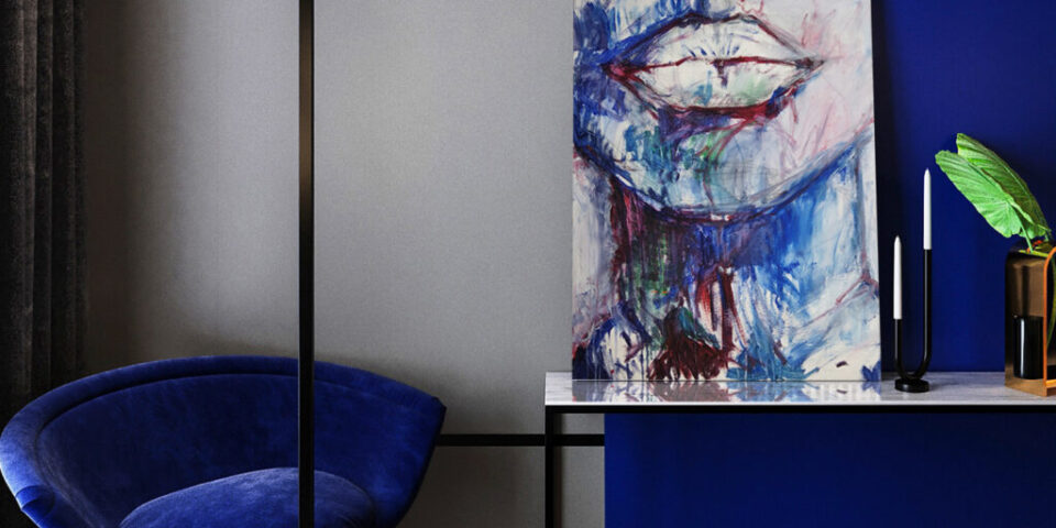 Akrylowy obraz do sypialni po zmianie wystroju wnętrza. Zamów unikatowy obraz do sypialni. Niedrogie obrazy ręcznie malowane