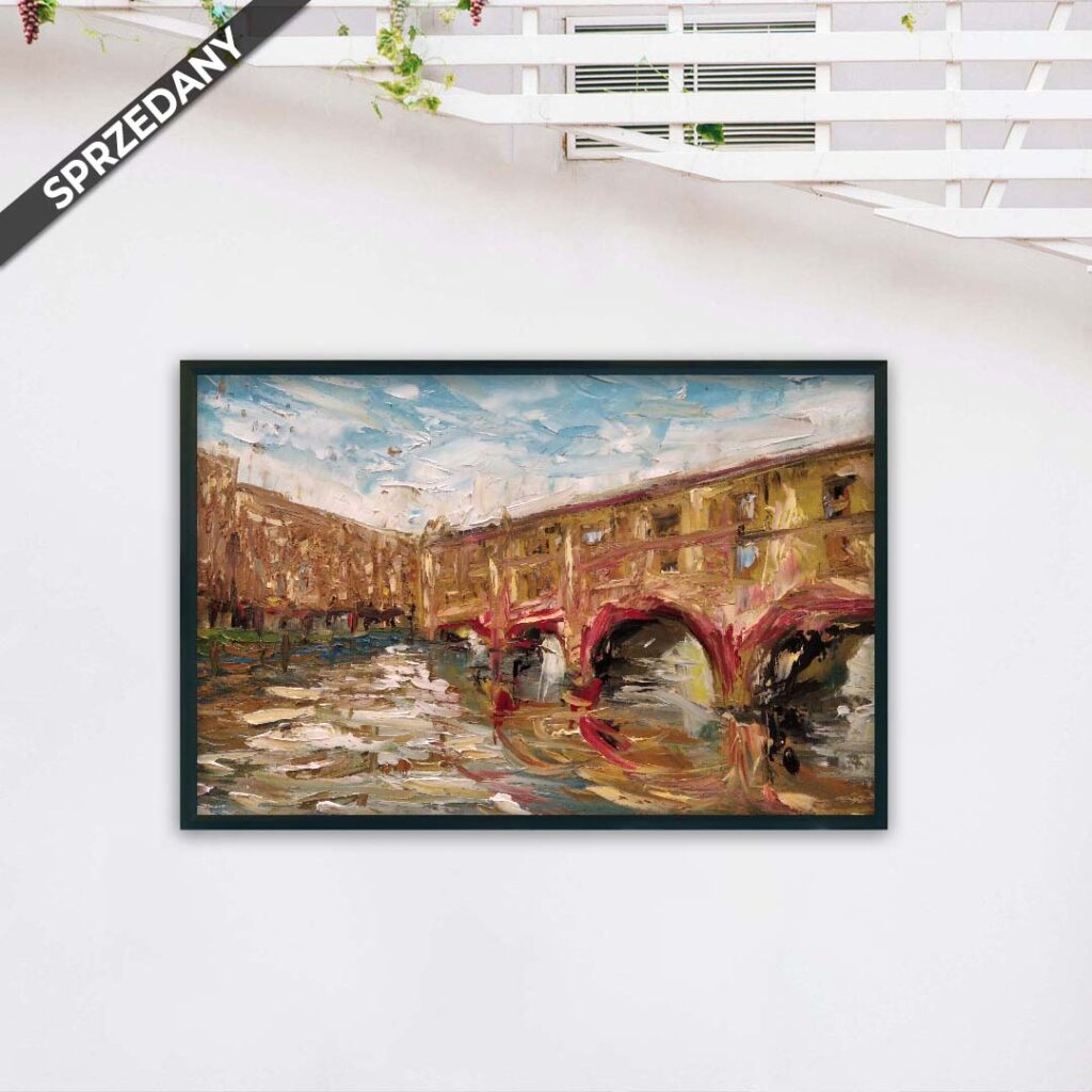 Obraz Olejny Most 40 x 50 cm