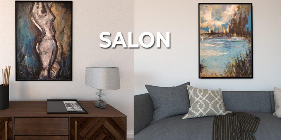 Urządź salon w nowoczesny sposób. Dobór obrazów do salonu