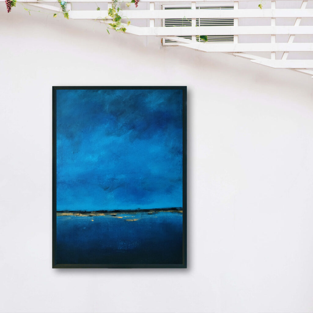 Obraz Akrylowy Brzeg Morski 60 x 80 cm