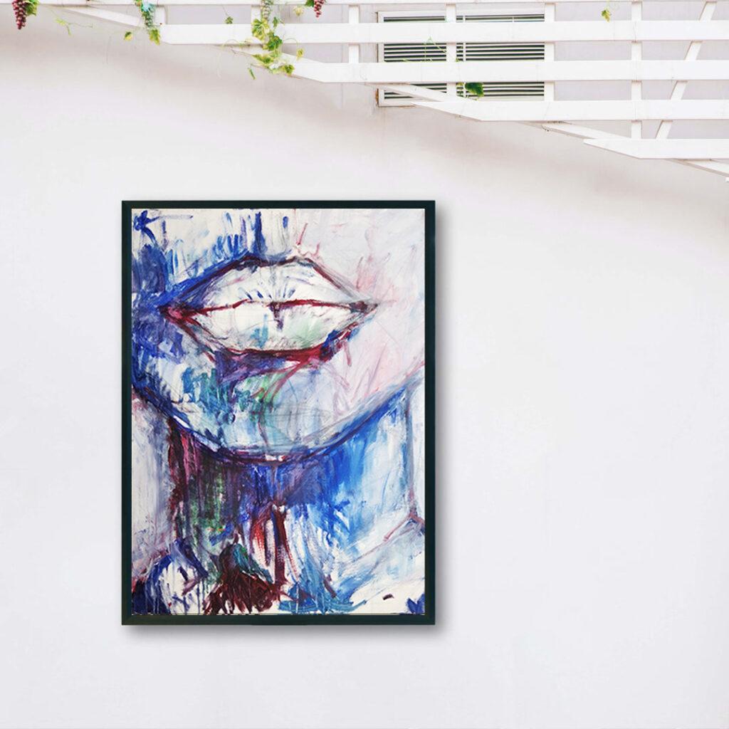 Obraz Akrylowy Milczenie 60 x 80 cm