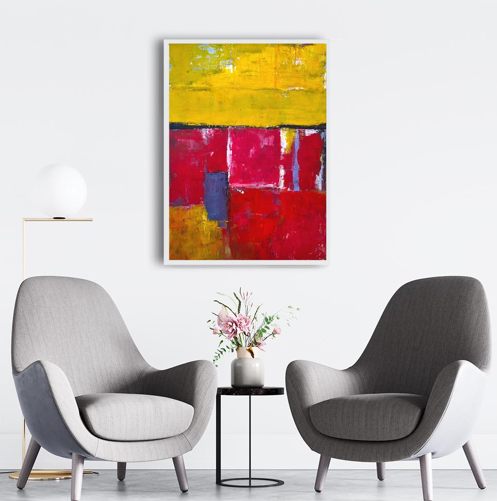 Obraz Akrylowy Tulipany 60 x 80 cm do biura