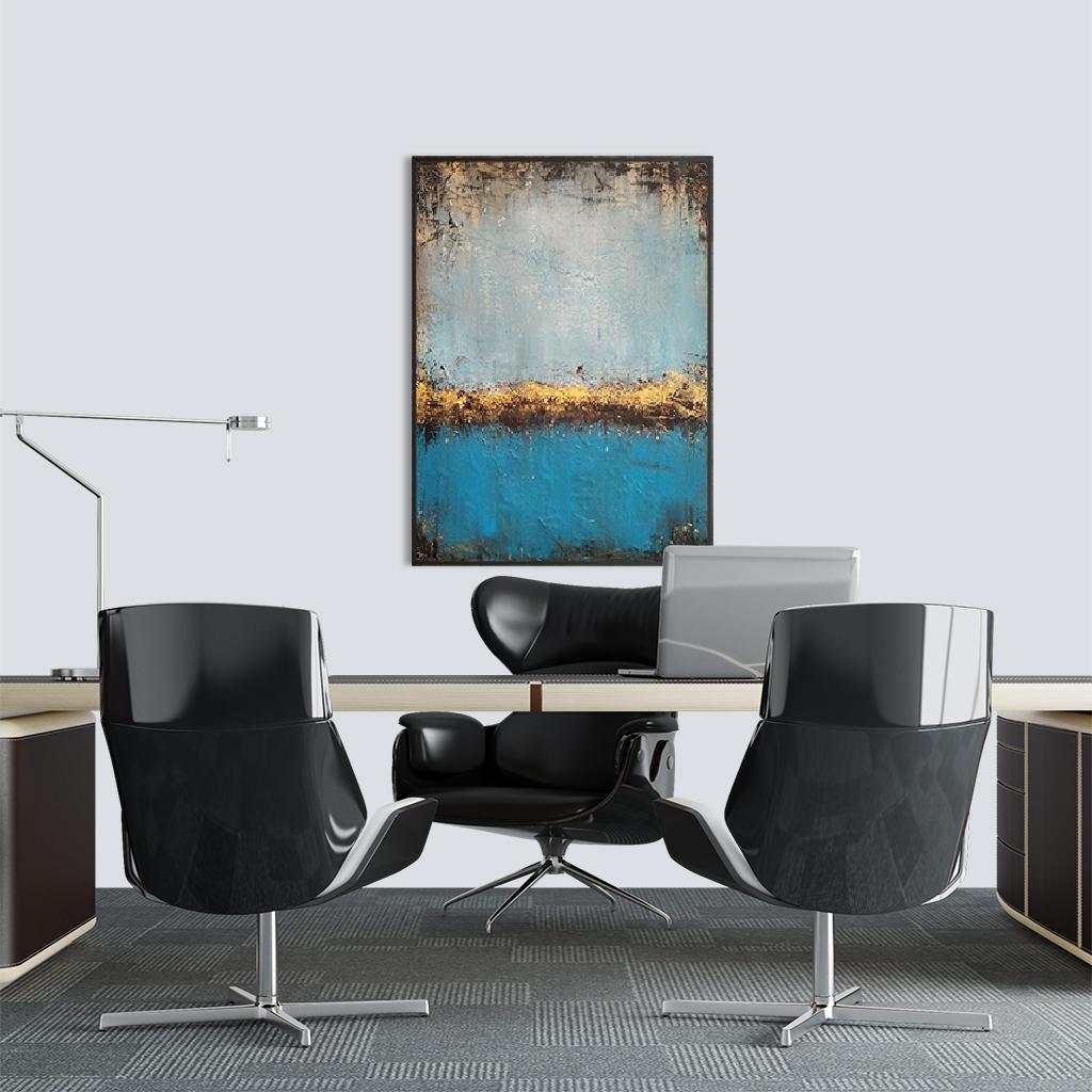 Akrylowy obraz do biura prezesa
