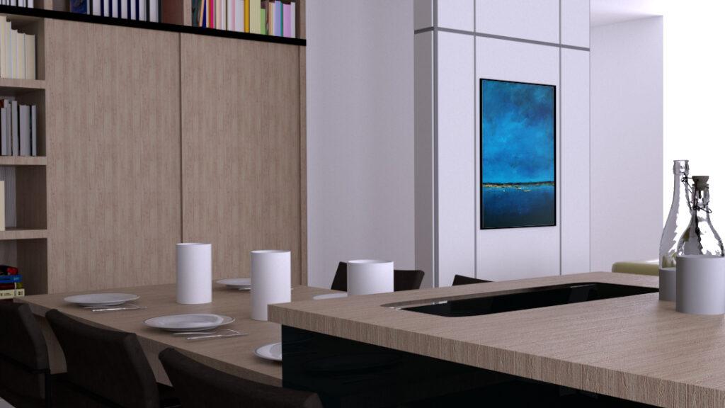Duży obraz akrylowy na ścianę do salonu. Kup obraz z obrazka