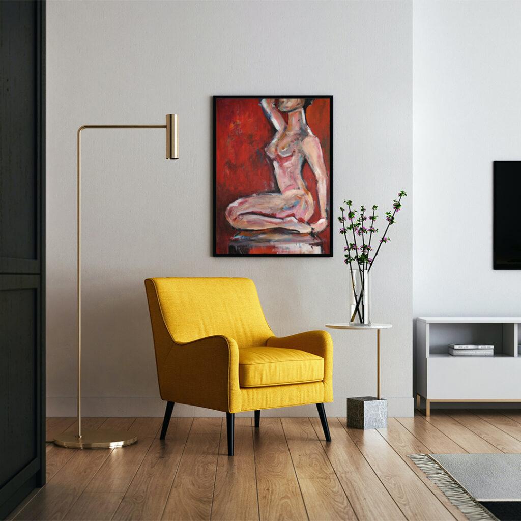 Obraz Akrylowy Poza 60 x 80 cm