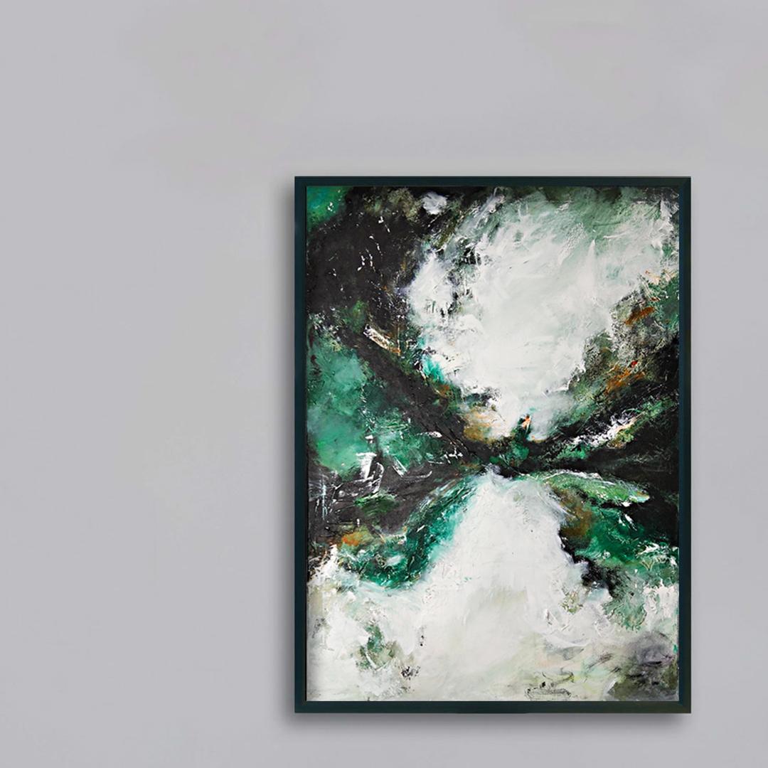 Obraz duży do nowoczesnego szarego wnętrza. Kup obraz na szarą ścianę.