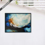 Obraz Akrylowy Fala 60 x 80 cm sprzedany