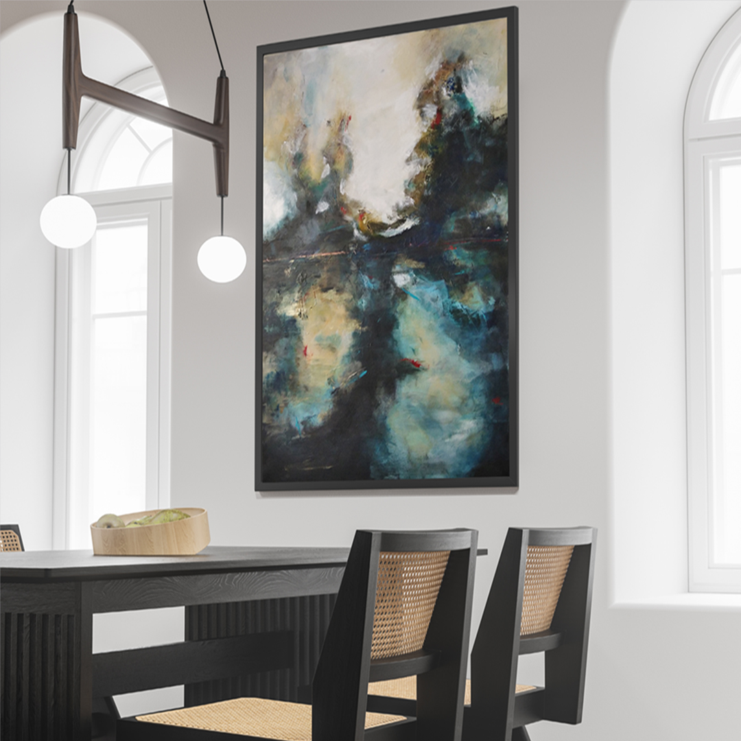 Obraz Akrylowy Poranek 115 x 75 cm poranek w jadalnii