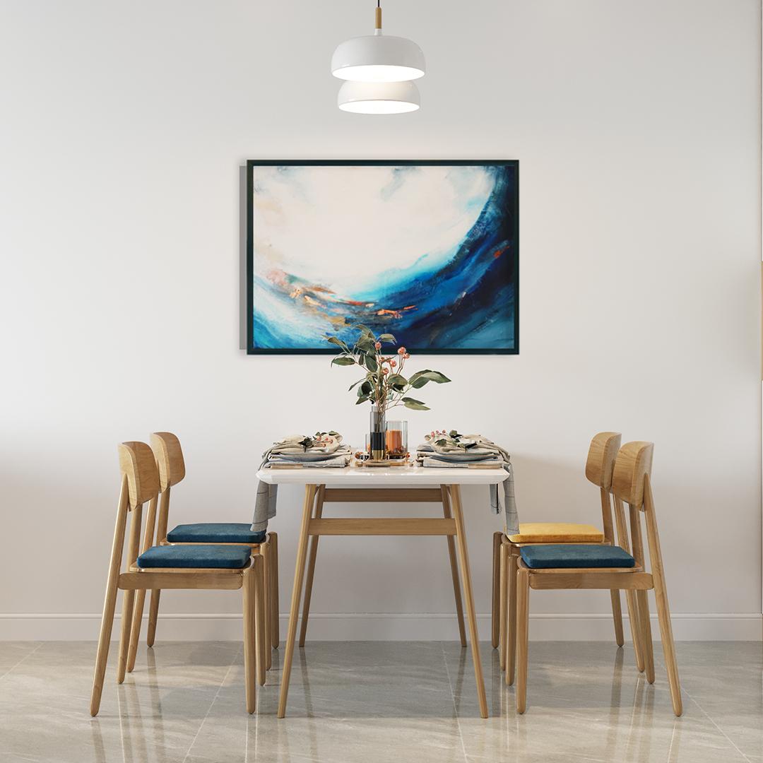 Obraz Akrylowy Szansa 60 x 80 cm obraz do jadalni