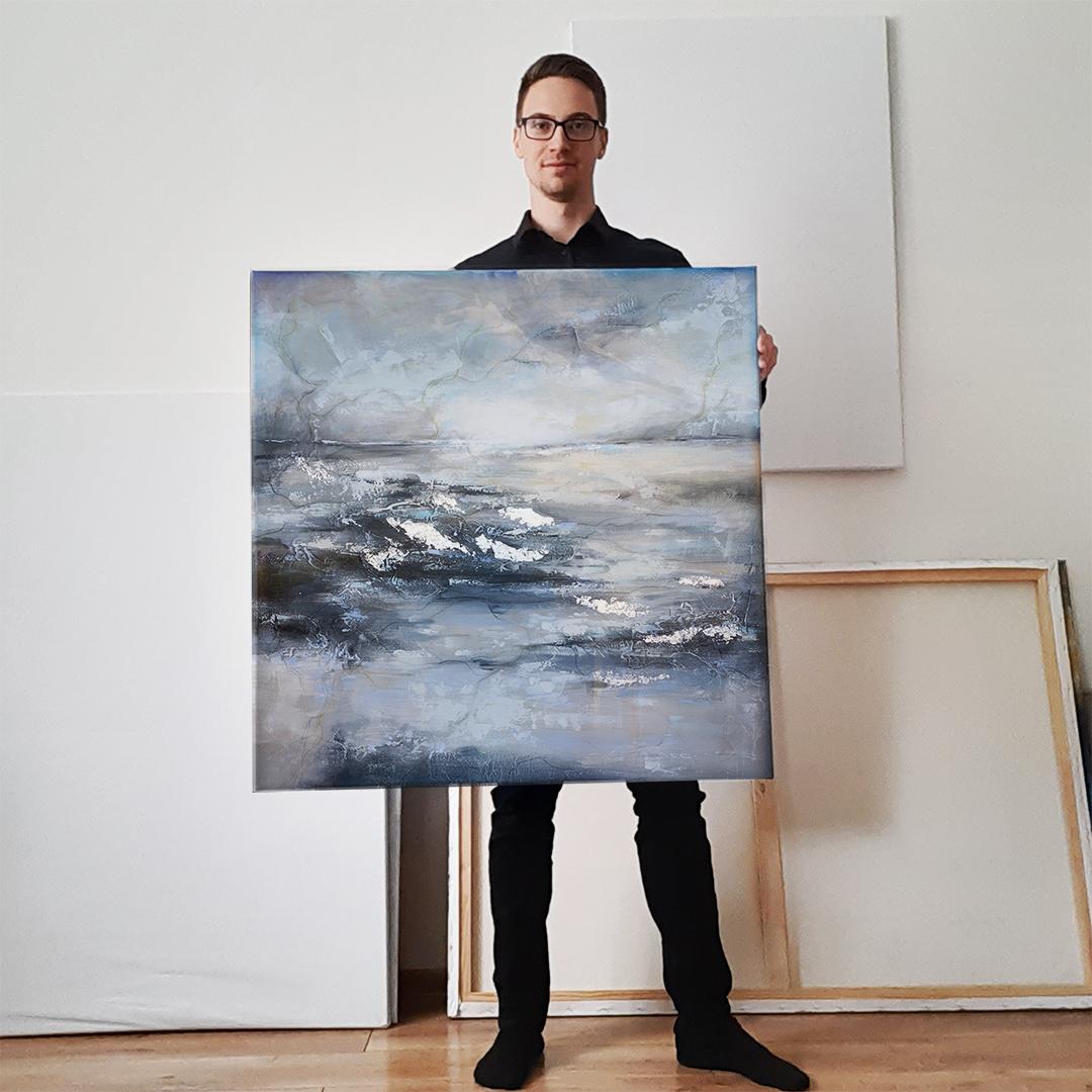 Autorskie ręcznie malowane obrazy abstrakcyjne do kupienia na ścianę. Obrazy abstrakcyjne na ściane do salonu, sypialni, biura