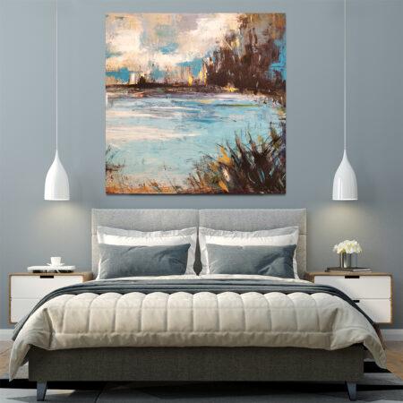abstrakcyjne obrazy do salonu do kupienia online