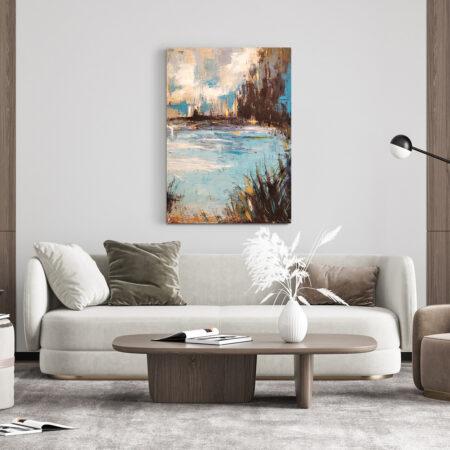 obrazy do salonu. abstrakcyjne ręcznie malowane obrazy akrylowe do kupienia na zamówienie. Obraz do salonu lub sypialni