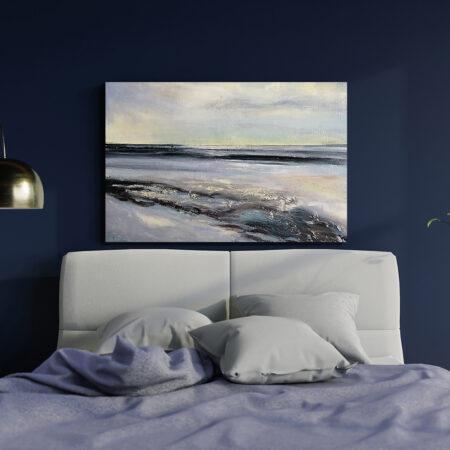 Autorski Ręcznie Malowany Obraz do Kupienia do Sypialni